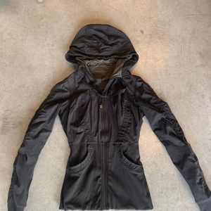 Lululemon  black dance studio jacket size 4